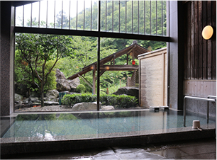 Taiyou-no-yu (Stone bath)